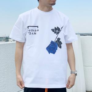 全2色 ゴッサム GOTHAM NYC Tシャツ ROSE S/S Tee ホワイト ベージュ 白 WHITE 半袖 GN807|mr-vibes