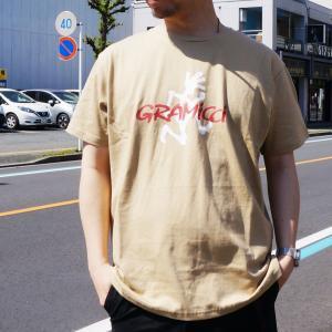 全2色 グラミチ GRAMICCI Tシャツ RUNNING MAN S/S Tee ホワイト ベージュ mr-vibes
