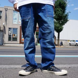 グラミチ GRAMICCI デニムルーズテーパードパンツ DENIM LOOSE TAPERED PANTS クライミングパンツ グラミチパンツ インディゴ 2002-DFJ mr-vibes