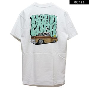 全2色 ハードラック HARD LUCK Tシャツ LIL SLEEPY S/S Tee 半袖 グラフィティ ホワイト 白 ブラック 黒|mr-vibes
