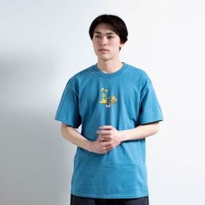 全2色 ハフ HUF Tシャツ BEST FRIENDS S/S TEE ホワイト 白 ブルー 青|mr-vibes