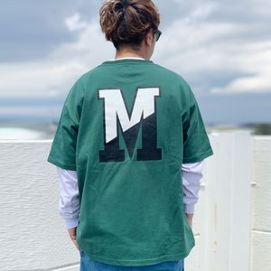 MRV by Mr.vibes Tシャツ MRVIBES COLLEGE LOGO S/S Tee オリジナル ミスターバイブス カレッジロゴ グリーン GREEN 緑|mr-vibes