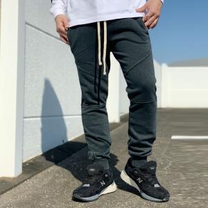 パックサン PAC SUN ジョガーパンツ PANELED JOGGER PANTS ブラック 黒 BLACK スキニーパンツ mr-vibes