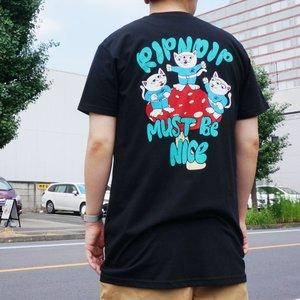 リップンディップ RIPNDIP Tシャツ ALIEN NERM S/S Tee 半袖 ブラック 黒 BLACK|mr-vibes