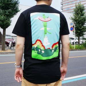 リップンディップ RIPNDIP Tシャツ ABUDUCTION S/S Tee 半袖 ブラック 黒 BLACK|mr-vibes