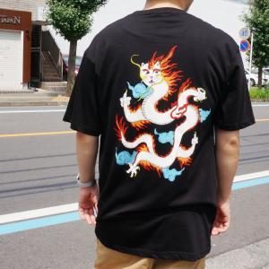 リップンディップ RIPNDIP Tシャツ DRAGONERM S/S Tee 半袖 ブラック 黒 BLACK|mr-vibes