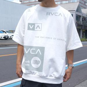 全2色 ルーカ RVCA Tシャツ ALL OVER RVCA S/S Tee ホワイト ブラック BA041-320|mr-vibes