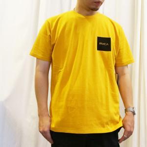 SALE セール 2色 ルーカ RVCA Tシャツ SQUARE BALANCE S/S Tee ホワイト ゴールド BA041-255|mr-vibes