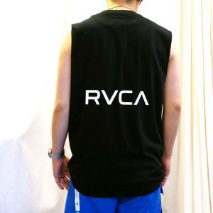 全2色 ルーカ RVCA ノースリーブ タンクトップ BACK RVCA TANK ホワイト ブラック BA041-353|mr-vibes