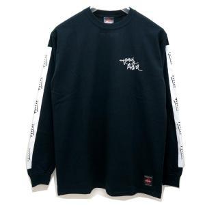 トニーアルバ TONY ALVA ロンT Tシャツ SLEEVE LINE L/S Tee アルバスケート ALVA SKATE ブラック 黒 BLACK|mr-vibes