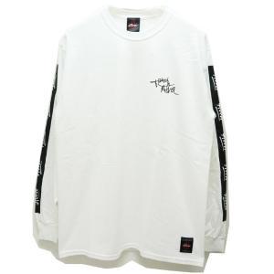 トニーアルバ TONY ALVA ロンT Tシャツ SLEEVE LINE L/S Tee アルバスケート ALVA SKATE ホワイト 白 WHITE|mr-vibes