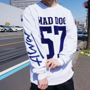 トニーアルバ TONY ALVA ロンT Tシャツ MAD DOG 57 L/S Tee アルバスケート ALVA SKATE ホワイト ブラック|mr-vibes