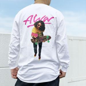 全2色 トニーアルバ TONY ALVA ロンT Tシャツ ALVA PHOTO L/S Tee アルバスケート ALVA SKATE ホワイト ブラック|mr-vibes