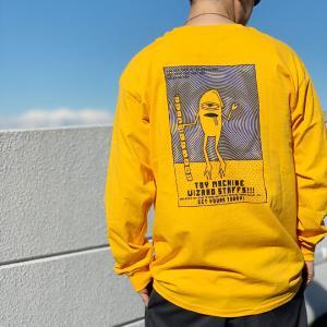 全2色 トイマシーン TOY MACHINE ロンT Tシャツ SECT STAFF GRADATION L/S Te 長袖 袖プリント ホワイト ゴールド|mr-vibes