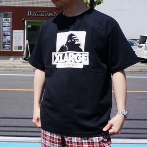 エクストララージ XLARGE Tシャツ OG LOGO S/S Tee ホワイト ブラック 白 黒|mr-vibes