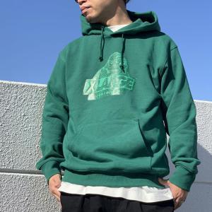 全2色 エクストララージ XLARGE パーカー PYTHON SLANTED OG HOODIE フーディー ブラック グリーン 黒 緑|mr-vibes