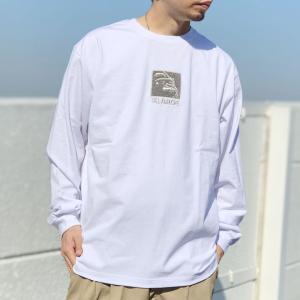 全3色 エクストララージ XLARGE ロンT Tシャツ SQUARE OG L/S Tee ホワイト 白 ブラック 黒 イエロー 黄色|mr-vibes