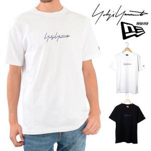 ヨウジヤマモト Yohji yamamoto ニューエラ Tシャツ 半袖 ロゴ トップス SS19