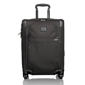 TUMI(トゥミ) ALPHA 2 TRAVEL 4輪スーツケース コンチネンタル・エクスパンダブル・4ウィールド・キャリーオン ブラック 22061D2【送料無料】