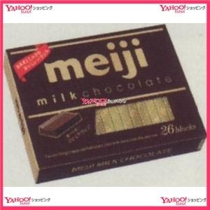 OEx明治 120G ミルクチョコレートBOX【チョコ】×48個 +税 【送料無料(北海道・沖縄は別...