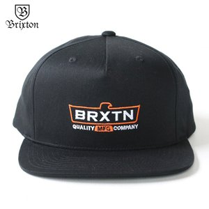 ブリクストン BRIXTON トラッカーキャップ CRUSS MP CAP ブラック|mroldman