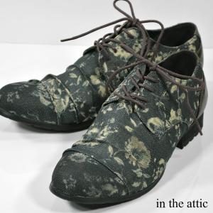 シューズ ドレスシューズ 花柄 アンティーク レースアップ 紳士靴 メンズ(ネイビー) 1551248|mroutlet