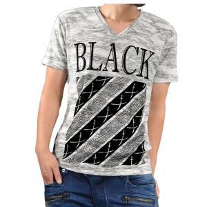 【Sale】ABORDAGE アボルダージュ 迷彩 カモフラ スラブ Vネック ロゴ 半袖 Tシャツ メンズ(ホワイト白グレー灰) ad1624216|mroutlet