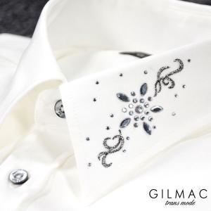 GILMAC ■仕様:胸ポケットなし レギュラーカラー ■素材:ポリエステル100% ■モデルデータ...