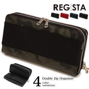 クラッチバッグ オーガナイザー バッグインバッグ メンズ PU レザー 鞄(カモフラカーキ) 543 mroutlet