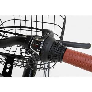 折り畳み自転車 20インチ6段変速カゴ付折りたたみ自転車 FB-206R (BK)(OTOMO Raychell FB-206R) (24212)|ms-ad|04