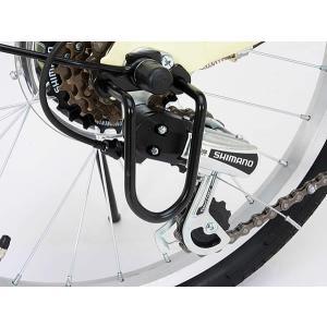 折り畳み自転車 20インチ6段変速カゴ付折りたたみ自転車 FB-206R (BK)(OTOMO Raychell FB-206R) (24212)|ms-ad|06