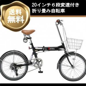折り畳み自転車 20インチ6段変速折りたたみ自転車 MSB-206R (ブラック 35096) 2017 (OTOMO Raychell MSB-206R)|ms-ad