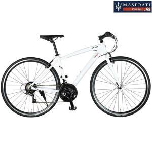 クロスバイク MASERATI(マセラティー)  AL-CRB7021 urban (ホワイト) マセラティ アーバン|ms-ad