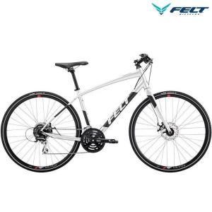 クロスバイク フェルト ベルザスピード 40 (グロスプラチナ) 2019 FELT Verza Speed 40|ms-ad