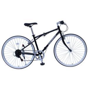 ミムゴ シボレー FD-CRB700C6SG (ブラック)折り畳み自転車 CHEVROLET FD-CRB700C6SG (MG-CV7006G) フォールディングバイク 365 ms-ad