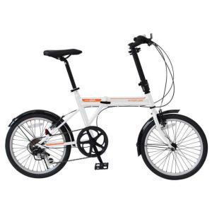 ミムゴ アクティブプラス911 ノーパンクFDB206SF (ホワイト)折り畳み自転車  ACTIVEPLUS911 ノーパンクFDB206SF (MG-G206NF-WH) フォールディングバイク 365 ms-ad