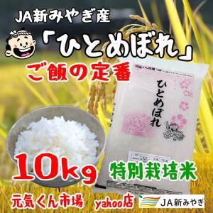 令和2年産 通販 ひとめぼれ 宮城県産 10Kg 特別栽培米(減農薬・減科学肥料)精米 一等米 送料無料(一部地域を除く)|ms-genki