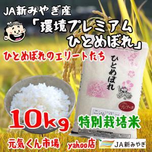 令和2年産 通販 環境プレミアムひとめぼれ 宮城県産 10Kg 特別栽培米(減農薬・減化学肥料) 精米 送料無料(一部地域を除く)|ms-genki