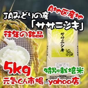 29年産 新米 米 通販 ササニシキ 宮城県産 5Kg 特別...