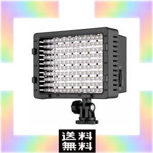 NEEWER CN-160 LED ビデオライト 160球のLEDを搭載 Canon、Nikon、S...