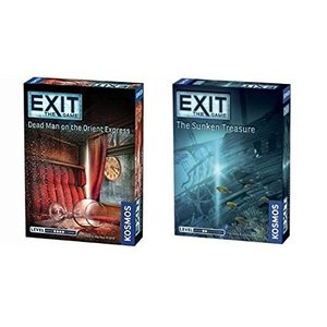 Thames & Kosmos Exit the Game Bundle of 2: Dead Ma...