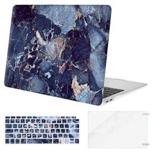 MOSISO プラスチック 模様 ハードケース シェルとキーボードカバーとスクリーンプロテクター M...