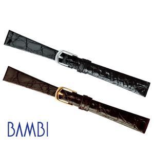 時計ベルト 時計バンド 時計 ベルト 時計 バンド バンビ カイマン BWA88008mm 09mm 10mm 11mm 12mm 13mm 14mm 15mm msg