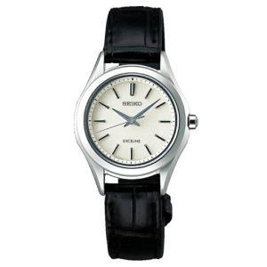 セイコー エクセリーヌ SEIKO EXCELINE ソーラー 腕時計 レディース ペアウォッチ SWCP009 【お取り寄せ商品】|msg