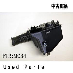 オートバイ中古部品FTR用純正エアクリーナーBOXセット17230−KFB−751他適応機種型式MC34ホンダHONDA|mshscw4