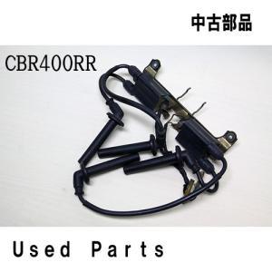 オートバイ中古部品CBR400RR用イグニッションコイルキャップセット30510-KT7-023他適応機種型式NC29ホンダHONDA純正品|mshscw4