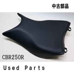 オートバイ中古部品 シート シングルシート ホンダ CBR250R用シングルシート(型式MC41)|mshscw4