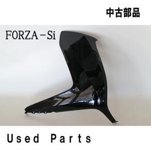 バイクオートバイ中古部品FORZA-Si(MF12)用純正フロント右サイドカバー64501-K04-930ZCホンダHONDA色ブラック mshscw4