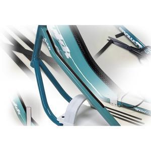 スノースクートCarbonプロテクターSnowCycleWorld製Snowscootトップチューブリアルカーボン材スノーサイクルワールド製|mshscw4