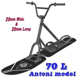 スノースクート 70L アントニーAntoni サンドブラック 70セミロング&セミワイドフレーム AP2ハード&スーパーハードフレックス 限定|mshscw4